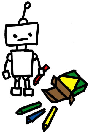 robot drawing easy learn simple build draw robots drawings clipartmag help paintingvalley