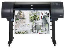 HP DesignJet 4000 Front