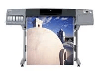 HP DesignJet 5500 Front Printing