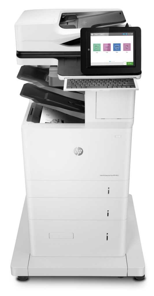 HP LazerJet Enterprise M632 Front