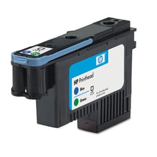 HP 70 Blue Green Printhead