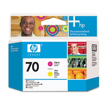 HP 70 Magenta Yellow Printhead