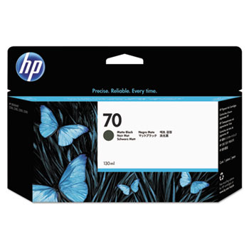 HP 70 Matte Black Original Ink Cartridge 130ml
