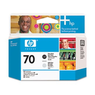HP 70 Photo Black Light Gray Printhead