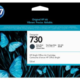 HP 730 130-ml Matte Black DesignJet Ink Cartridge