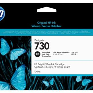 HP 730 130-ml Photo Black DesignJet Ink Cartridge