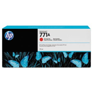 HP 771 Chromatic Red Original Ink Cartridge