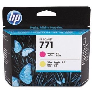 HP 771 Magenta Yellow Printhead