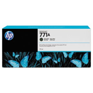 HP 771A 775-ml Matte Black DesignJet Ink Cartridge