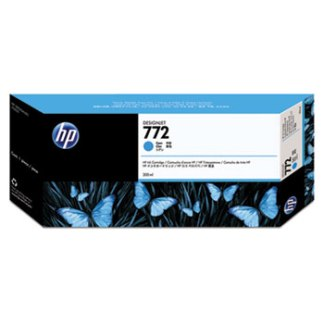 HP 772 Cyan Original Ink Cartridge 300ml