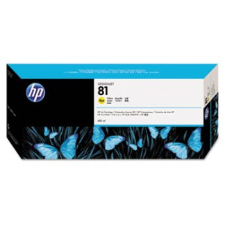 HP 81 Yellow Original Ink Cartridge