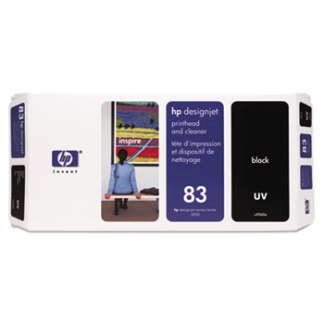HP 83 UV Black Printhead and Cleaner