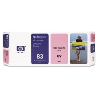 HP 83 UV Light Magenta Original Ink Cartridge