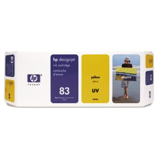 HP 83 UV Yellow Original Ink Cartridge