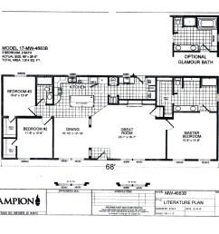 1994 fleetwood mobile home floor plans 1994 fleetwood wiring diagram fleetwood tioga rv house [ 1650 x 1275 Pixel ]