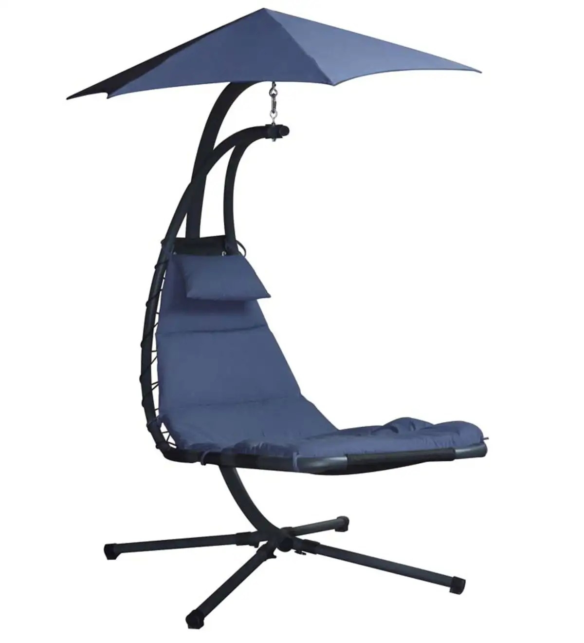 Chair With Umbrella Dream Chair Suspended Lounge Chair With Umbrella Plowhearth