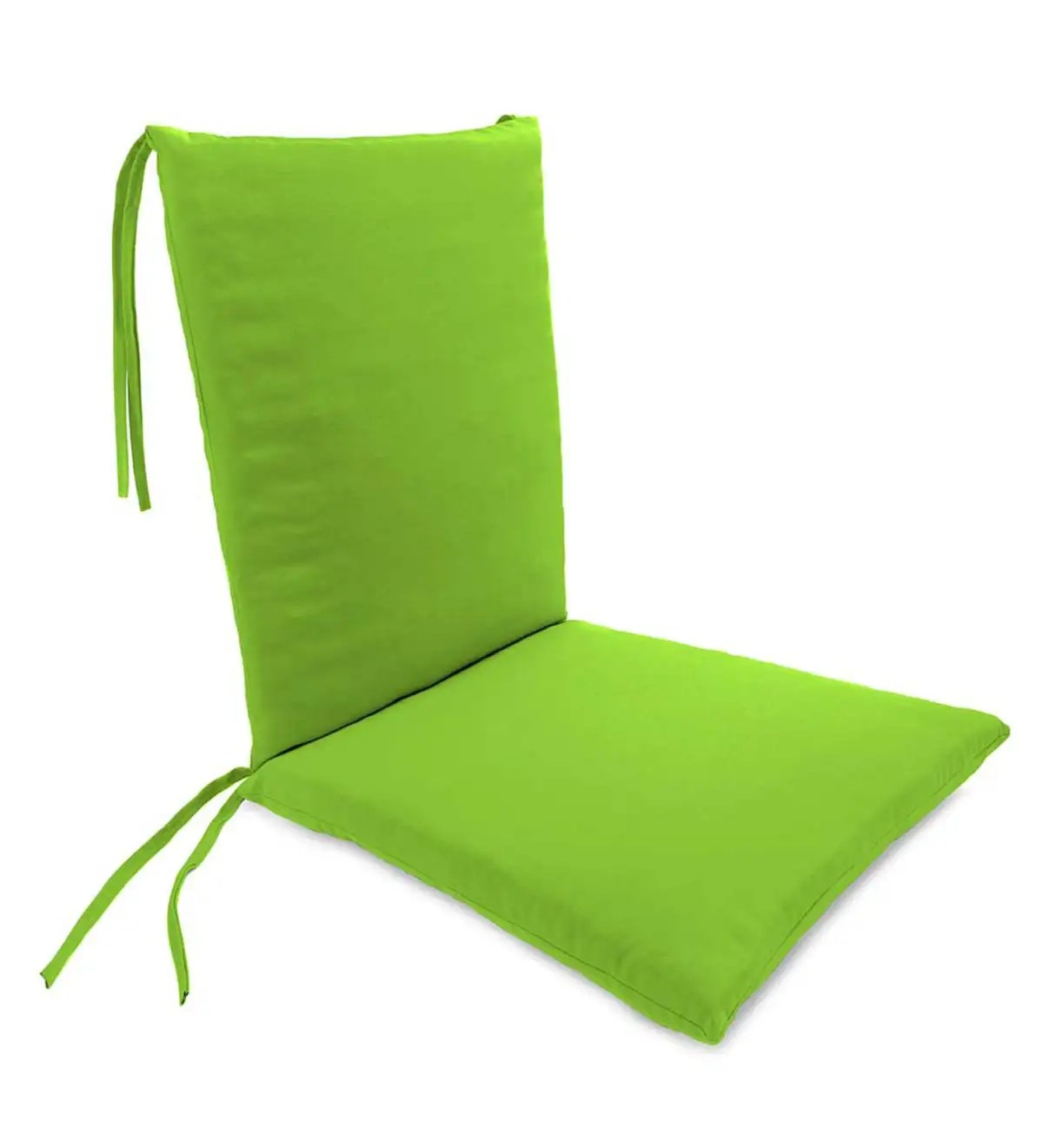 Deck Chair Cushions Polyester Classic Rocking Chair Cushions With Ties Outdoor