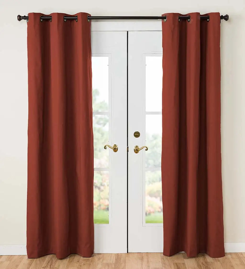 """Thermalogic Insulated Grommet-top Curtains 84"""""""