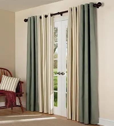 Tab Top Window Curtains