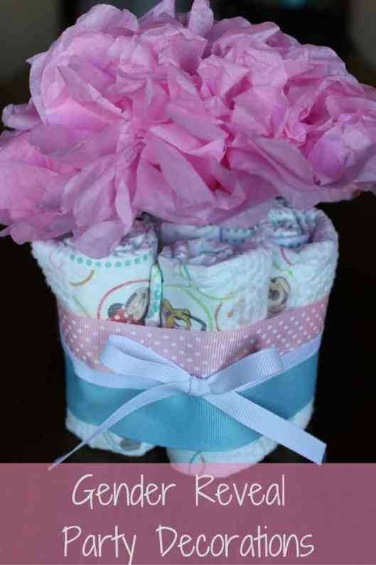 diaper bouquet