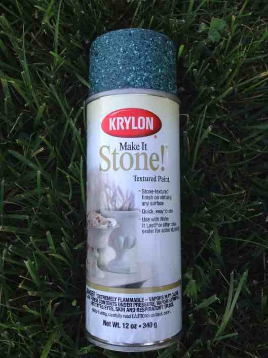 Krylon make it stone spray paint