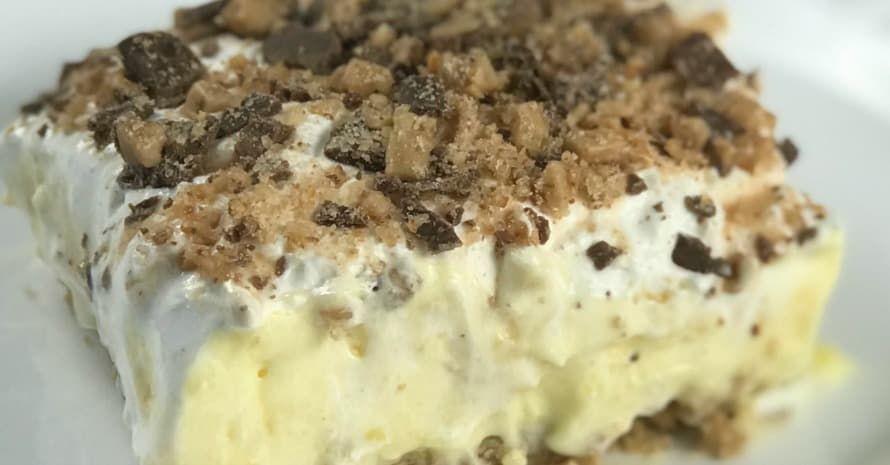 Ice Cream and Pudding Dessert