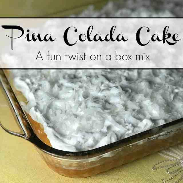 fun cake mix