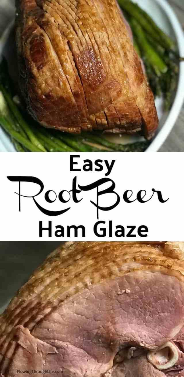 easy root beer ham glaze