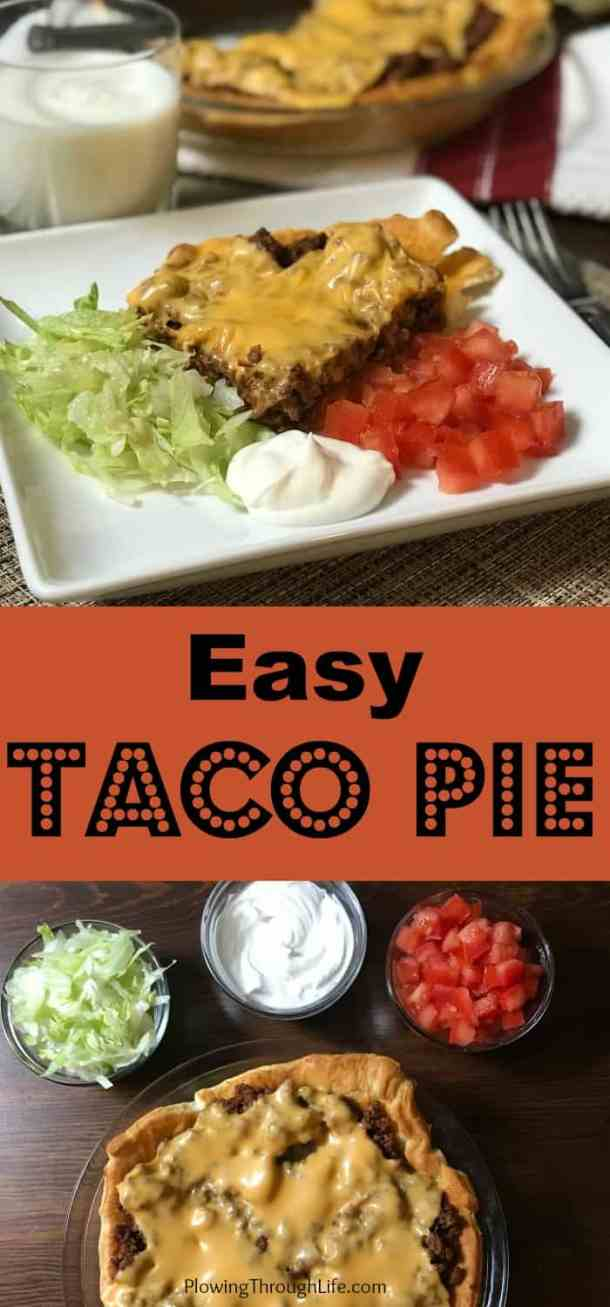 cheap and easy meal idea taco pie