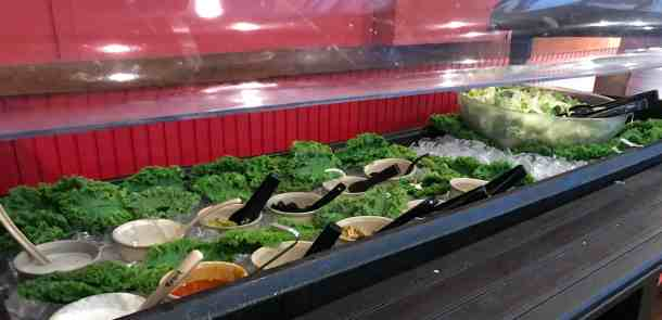 salad bar Masseys buffet