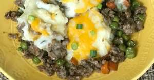 easy shepherd pie with sausage recipe