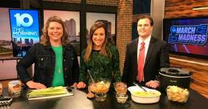 buffalo chicken dip on WBNS channel 10