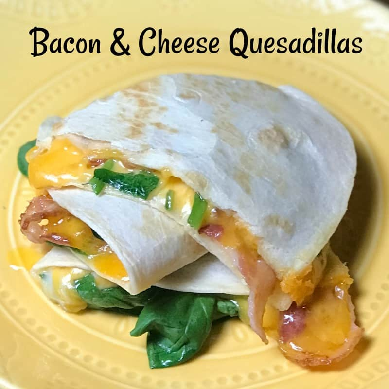 better than cheese quesadilla