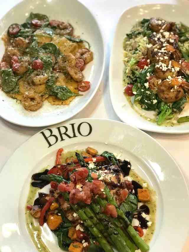BRIO seafood celebration