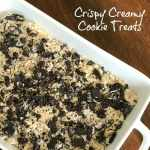 fun and easy rice crispy treat snack idea