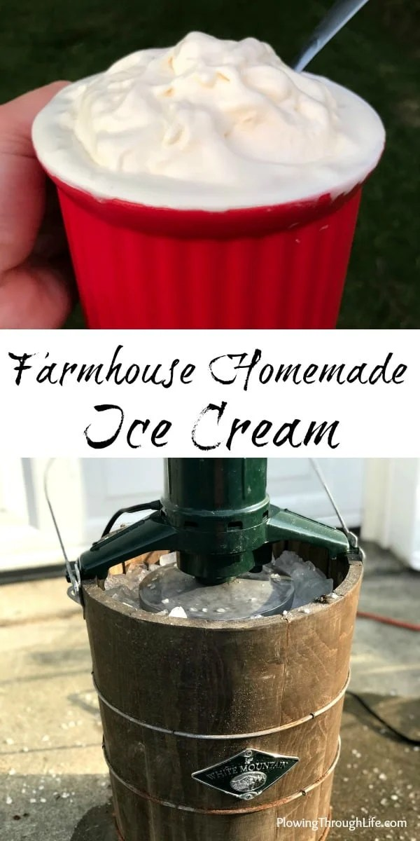 homemade ice cream for cookouts, parties, campings the perfect refreshing summer dessert