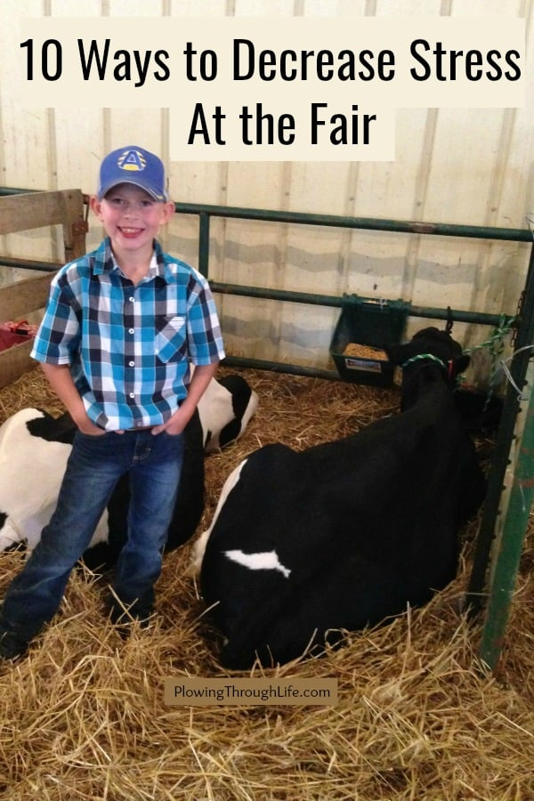 10 ways to to decrease stress at the fair