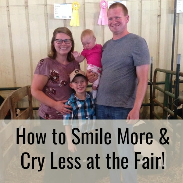 smile more and cry less at the fair