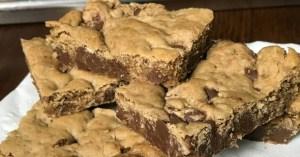 quick bar cookies - cowboy cookie bars