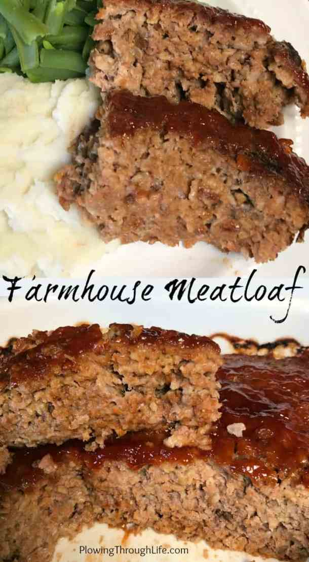 Are you craving a moist and delicious meatloaf? Here is the recipe my mom has spent years perfecting - Farmhouse Meatloaf. This is a wonderful meatloaf recipe everyonewill enjoy!