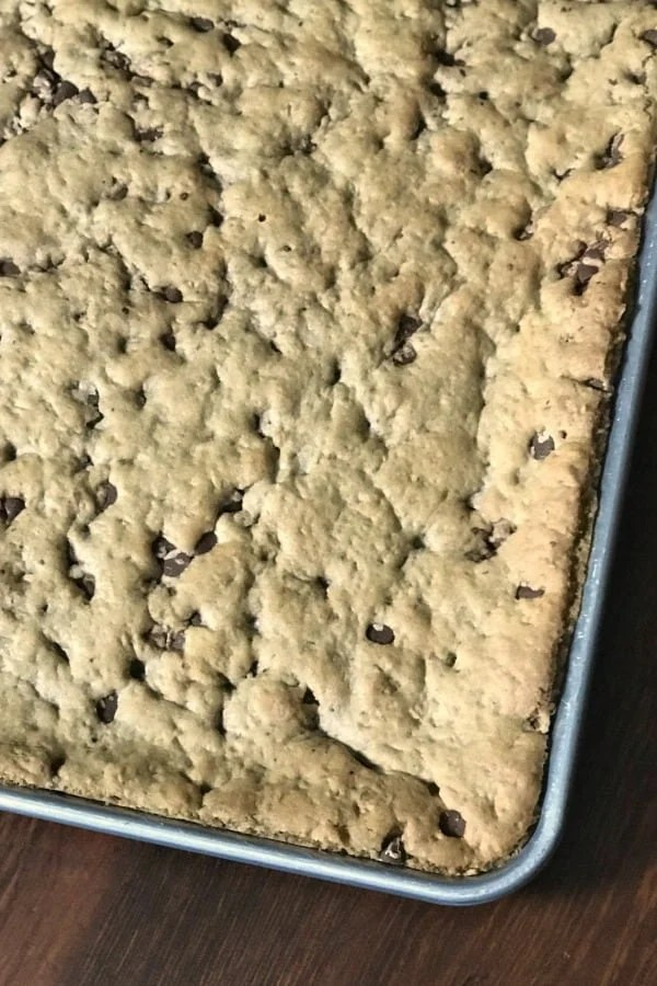 Are you craving a quick and delicious chocolate and oatmeal bar cookie recipe? Then these Cowboy Cookie Bars are for you!These are the best bar cookies I've ever eaten! #cookiebar #easycookierecipe