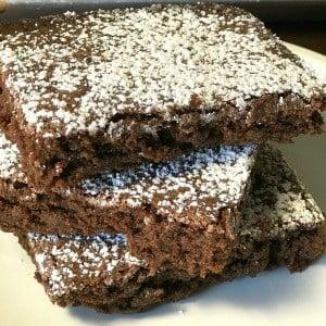Big Batch of Homemade Brownies {Farmhouse Stye}