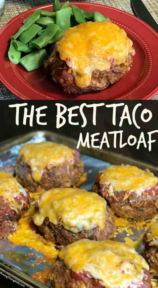 We love meatloaf and tacos, so when a friend gave us this recipe for the Best Taco Meatloaf we couldn't wait to try it. This easy meatloaf will be a regular meal on our menu because it's so good! #besttaco #easyrecipe #meatloaf