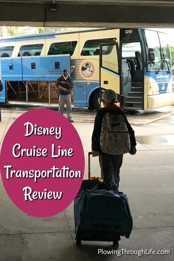 Our family booked a last minute discounted Disney Cruise 26 days before we set sail. One of the details we had to figure out was whether to use Disney Cruise Transportation to Port Canaveral. This was our family's first cruise. The overall experience was unbelievable and amazing. They named the ship the Dream for a reason!