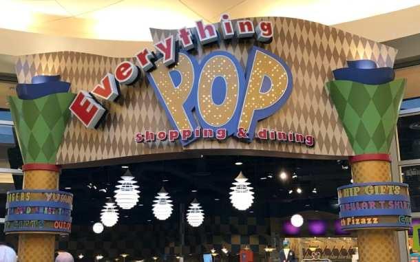 Pop Century Food Court & Shopping near lobby