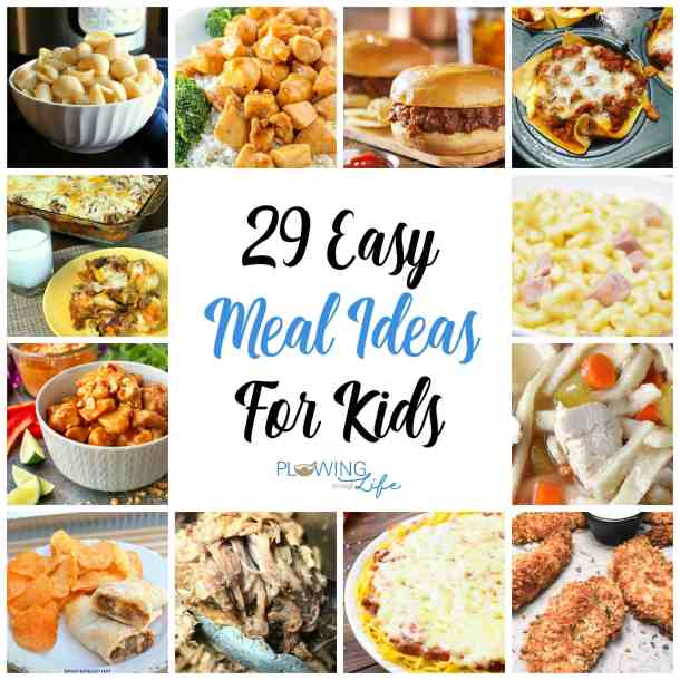 With crazy lives and busy schedules, families need Easy Dinner Ideas for Kids.  We all want to make one meal that everyone will eat, so we've rounded up some of the best family meal ideas!