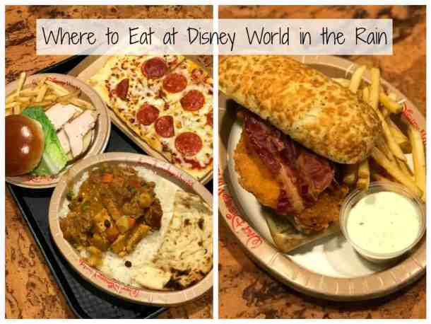 food at mara food court in the Animal Kingdom lodge - good place to eat in the rain at Disney