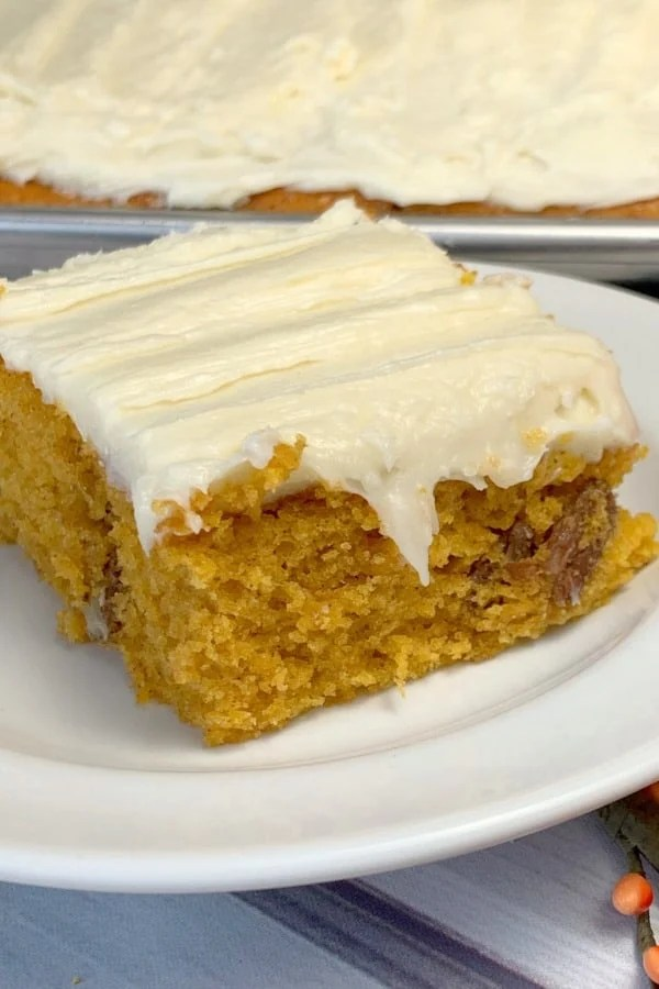 Pumpkin bars are a recipe my mom has made many times over the years and is adapted from a Betty Crocker recipe.