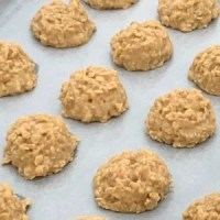no bake peanut butter cookies without cocoa