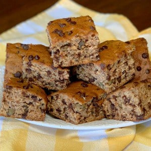 loaded banana bars